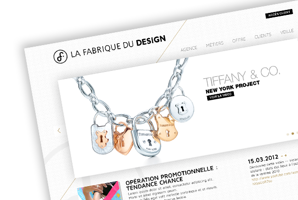 La Fabrique du Design – Website