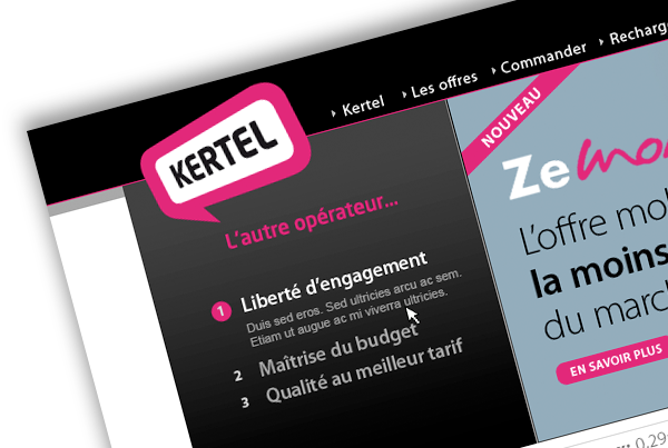 Kertel – Website